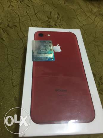 iphone 7 red 128 sealed