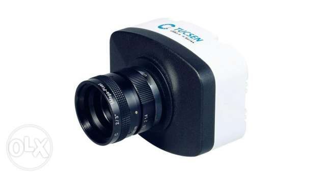 Digital camera for microscope resesrch with adapter