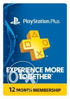 "PS PLUS 1 year membership ""playstation plus"""