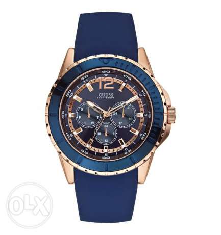 Guess Blue Round Watch