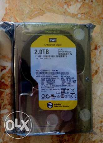 Hard 2TB 7200 RPM Western Digital RE Enterprise هارد ويسترن
