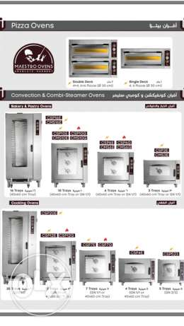 Convection & Combi-Steamer & Pizza Ovens