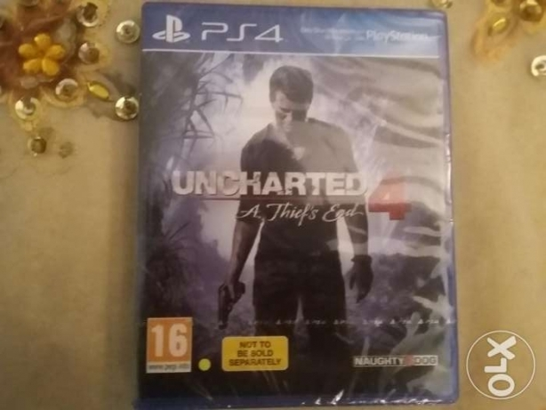 Uncharted 4 original CD المعمورة -  1