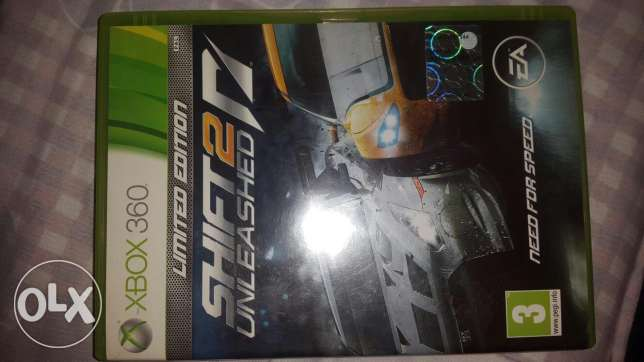Xbox360 Need for speed SHIFT 2 unleashed (Limited Edition)