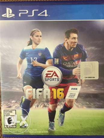 Uncharted 4 Arabic edition & Fifa 16 stander-like new(both together) 6 أكتوبر -  4