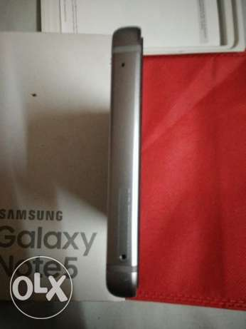 Galaxy note 5 32g blue used for one.month with box مصر الجديدة -  5