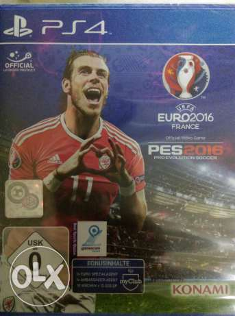 "Video game ""PES 2016 , ps4"""