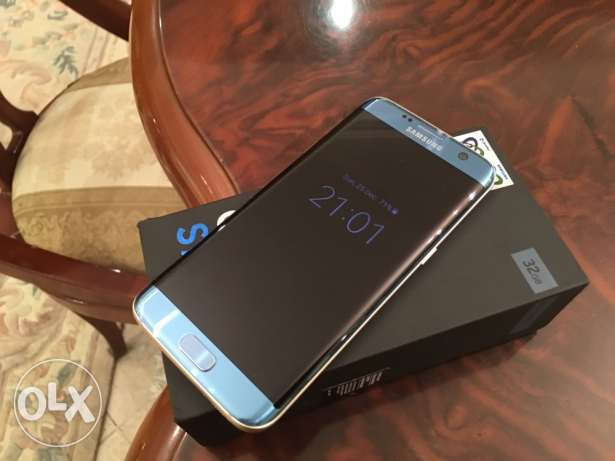 samsung galaxy s7 edge dual new color blue gold