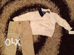 tommy hilfiger pullover and pantalon