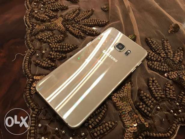 samsung galaxy s6 edge plus gold as new مدينة نصر -  4