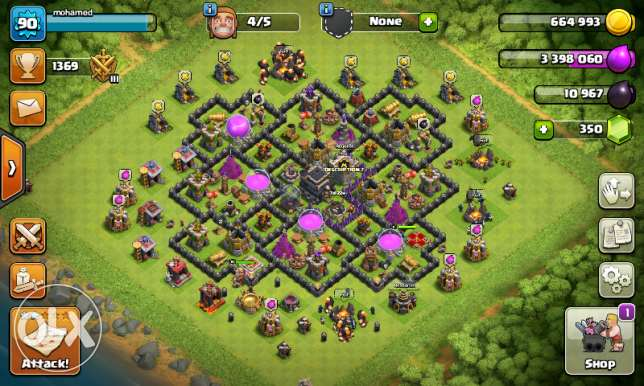 Coc account town 9