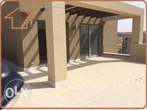 Pent house for rent in village gate 200m