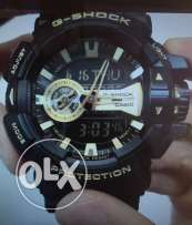 G-Shock GA-400 Garish series Watches - black/ gold