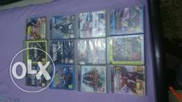 12 games for sale in very good condition