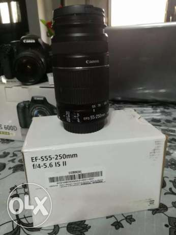 Canon EFS-55-250mm