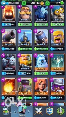 clash royale account المنصورة -  4