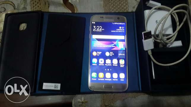 S7 g930f gold 32gb one sim المنصورة -  4