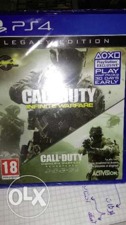 Call of duty Infinte+Modern للبدل او البيع