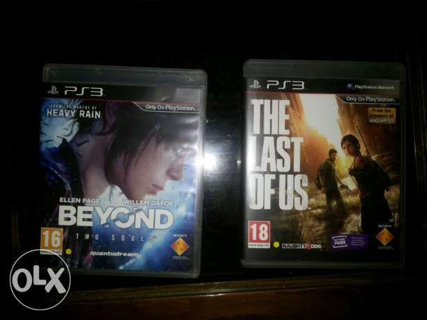 The Last of us .. Beyond two souls *Ps3* مدينة الرحاب -  1
