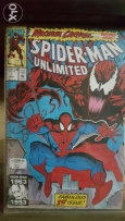 Spiderman unlimited first issue ! Great condition