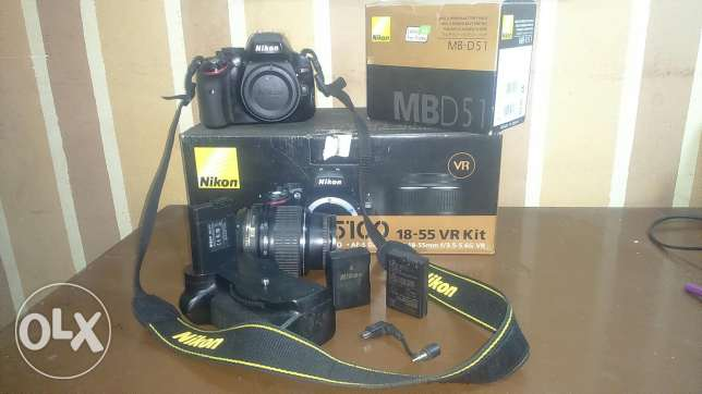 Nikon d5100 with nikkor 18_55