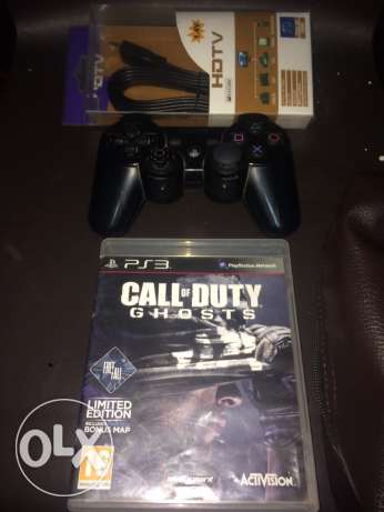CD call of duty ghosts w joystc orignal