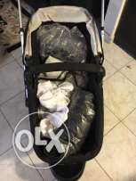 mother care stroller+ carry cot MY3