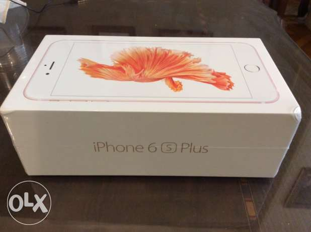 Brand new sealed iphone 6s plus 64gb rose gold ...from Saudi Arabia