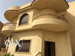 Villa for sale in yasmin 7 ,nice view on large landscape.fully finish