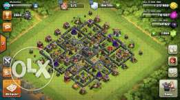 clash of clans townhall 9 maxed