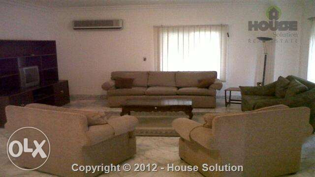 Furnished Apartment For Rent In Maadi With An Amazing View