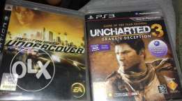 NFS undercover&uncharted3