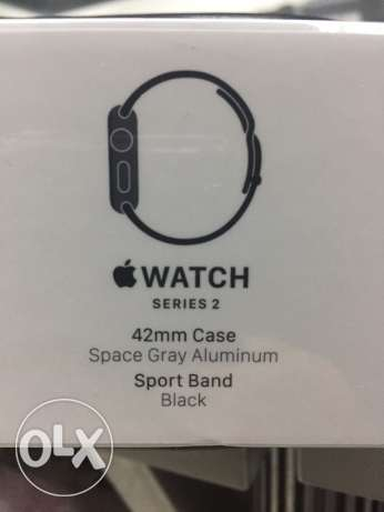 Apple watch series 2 سموحة -  1
