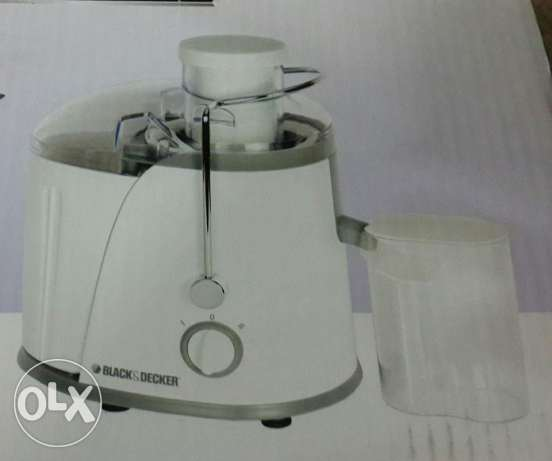 Black & Decker 400 W Fruit Extractor only used twice