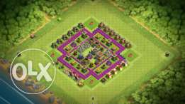 Clash of clans town hall 9 90% maximum upgrade