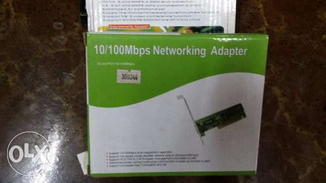 كارت نت 10/100Mbps Networking Adapter