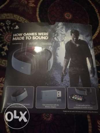 Ps4 headset uncharted