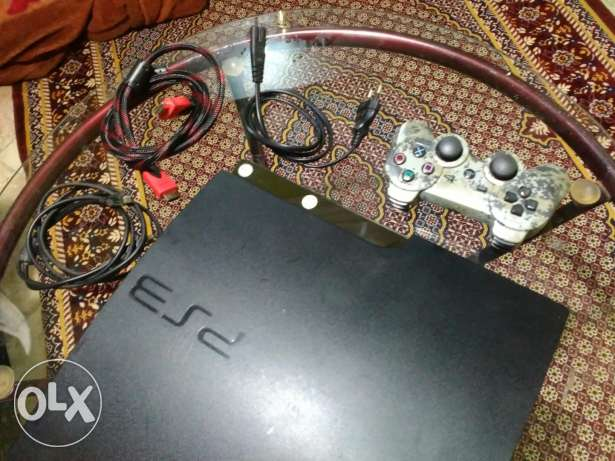 ps3 slim 320 with 19 new games