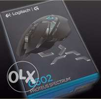 Logitech G502 Proteus Spectrum RGB Tunable Gaming Mouse **جديد متبرشم*