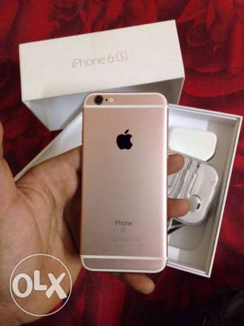 IPhone 6s 16 gigabytes Rose colored