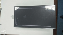 Brand new jet black I phone 7 plus 128 G