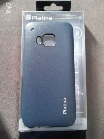 HTC M9 platina case (leather)