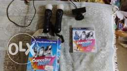 Play Station Move 2 controller + Camera Sony +original Cd Dance Party