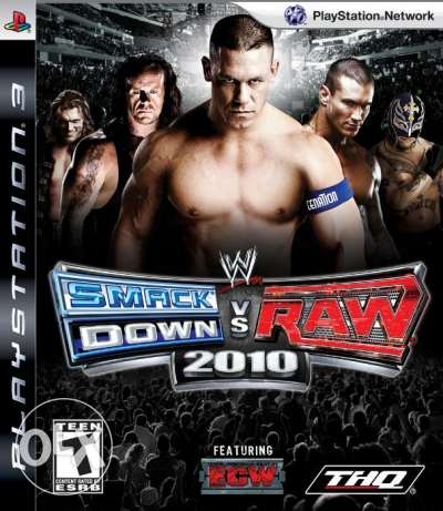 لعبة Smack down VS Raw 2010 لجهاز PS3
