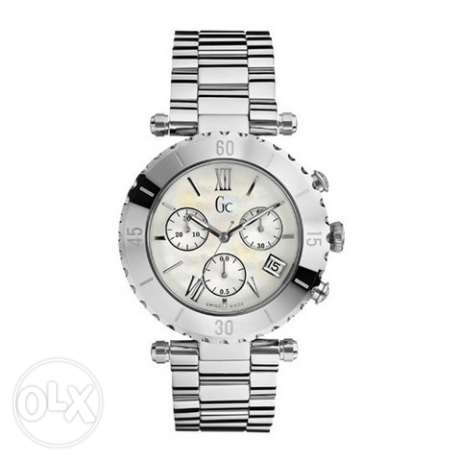 Gc Silver Watch