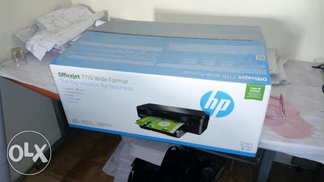 Printer hp officejet 7110 wide a3