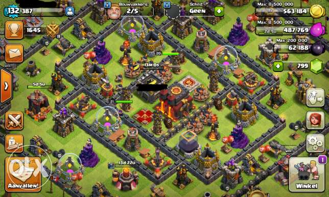 Clash of clans town hall 10 طنطا -  1