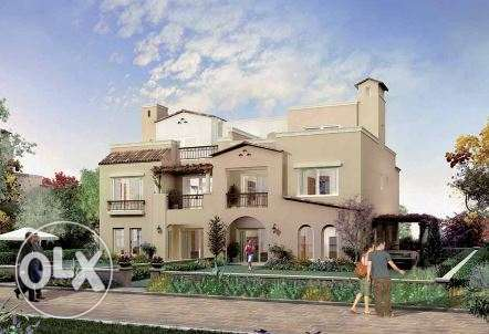 Emaar twin house in New Cairo at {mivida} with good price