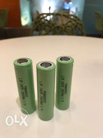 Panasonic 3 batteries
