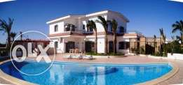 Villa with beach and pool for rent
